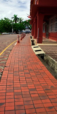 Red Paving Road of Malacca