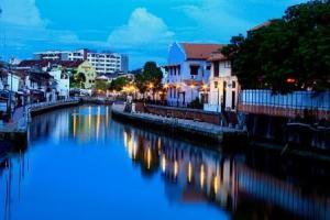 Sunset at Malacca RIver